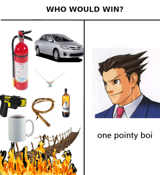 Sweet Memes Are Made Of These Phoenix Wright Ace Attorneys