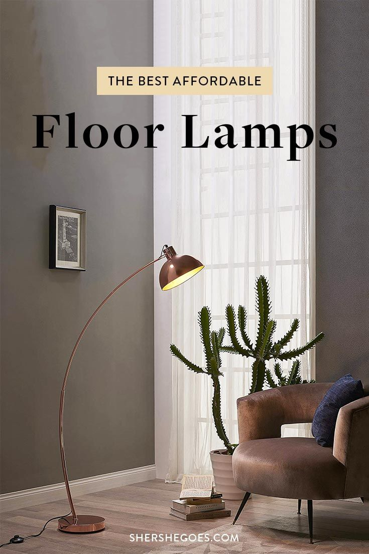 The Best Floor Lamps on Amazon (Stylish & Under 200) in
