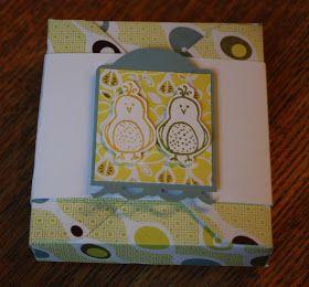 Polly kreativ: Noch ein paar Tage Teelichterverpackungen! - Hello Love Stampin up