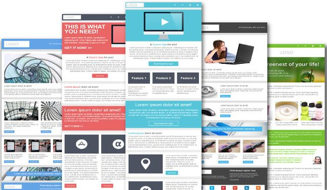 16 Free Responsive Email Newsletter Templates http\/\/www - free email newsletter templates word