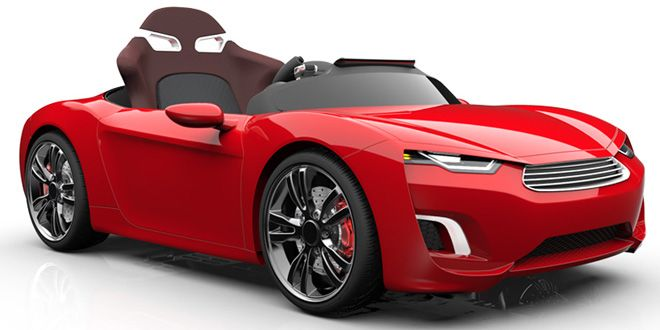 luxury electric car for kids comes with 4 wheel drive sound system