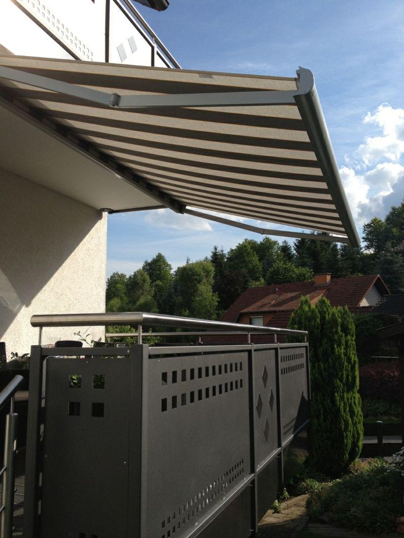 Markise Balkon Eine Herrliche Variante Fur Sonnen Und