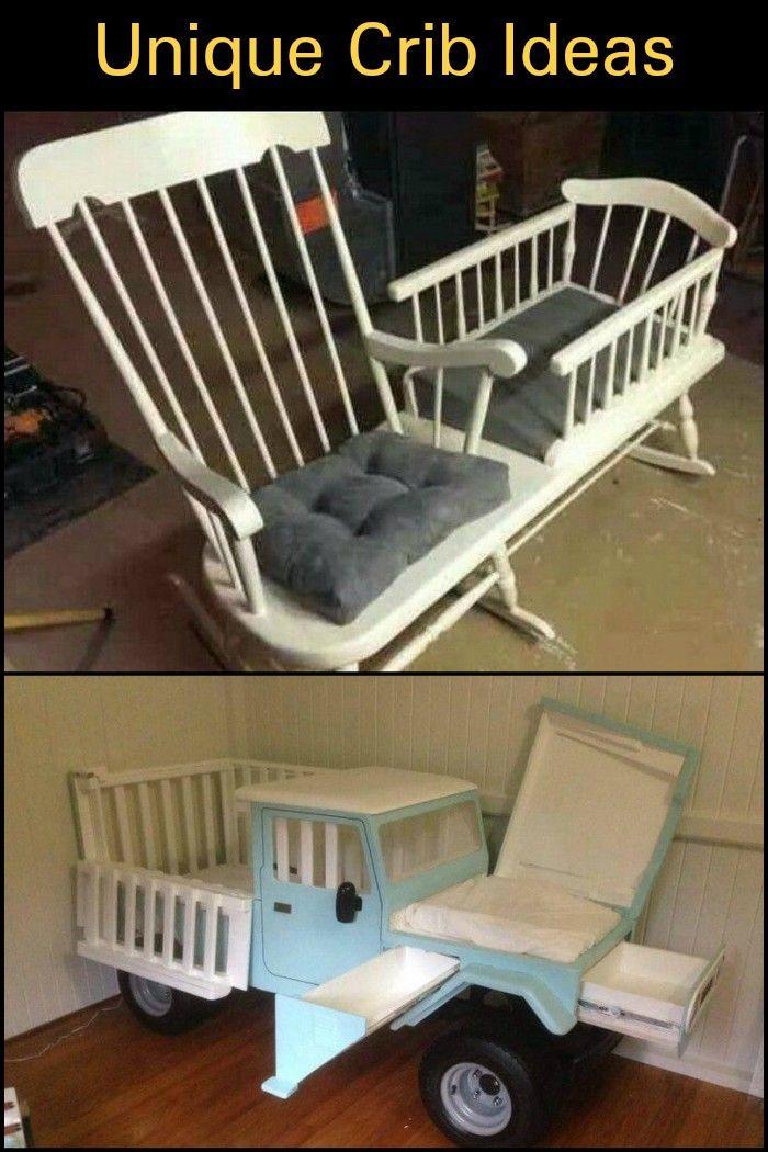 Unique Crib and Cradle Ideas | Pinterest | Muebles industriales ...