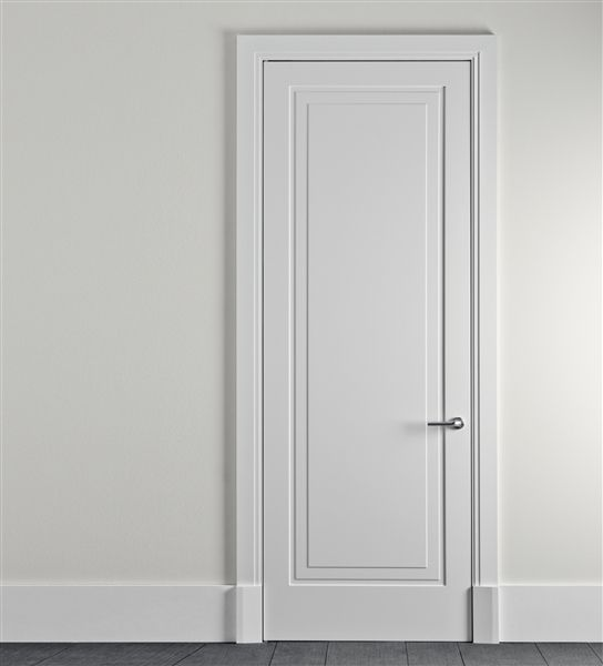 single panel door : robert a m stern for lualdi   Porte ...