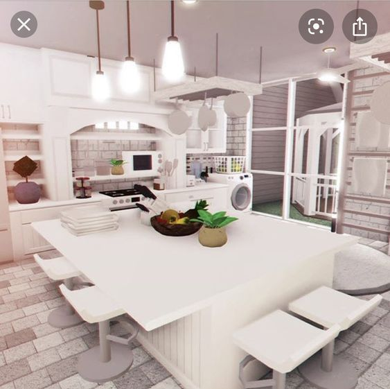 Bloxburg Kitchen Idea Modern House Floor Plans Simple House Plans Tiny House Layout