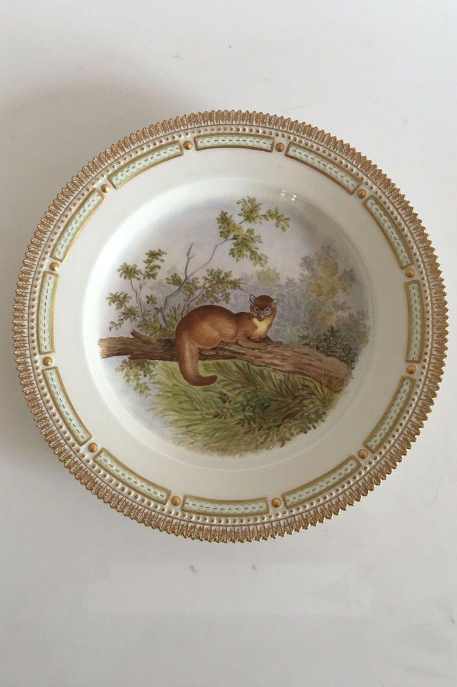 Royal Copenhagen Flora Danica Animal Game Dinner Plate 239 3549 Marten | eBay