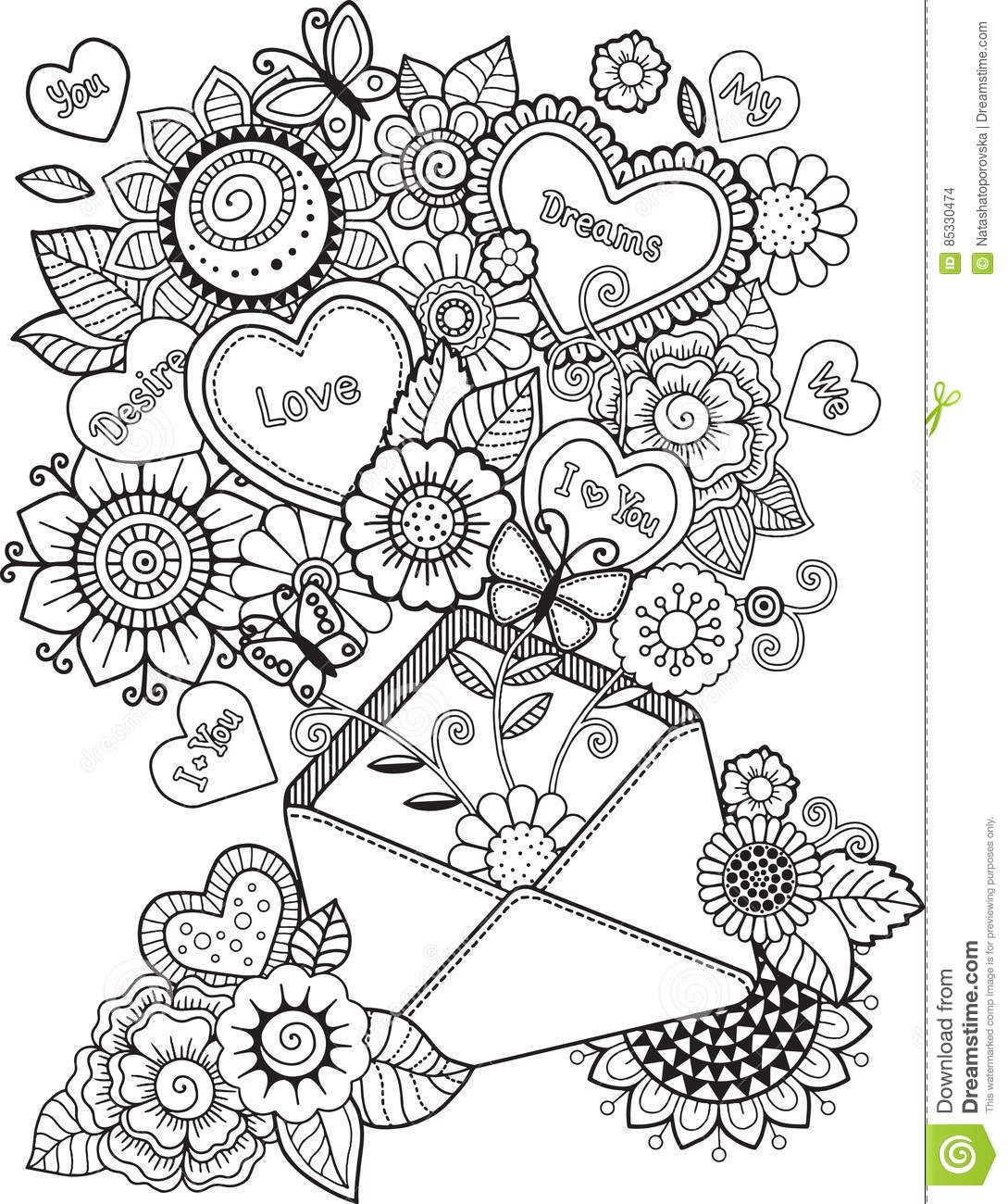 pin van barbara op coloring heart love  kleurplaten