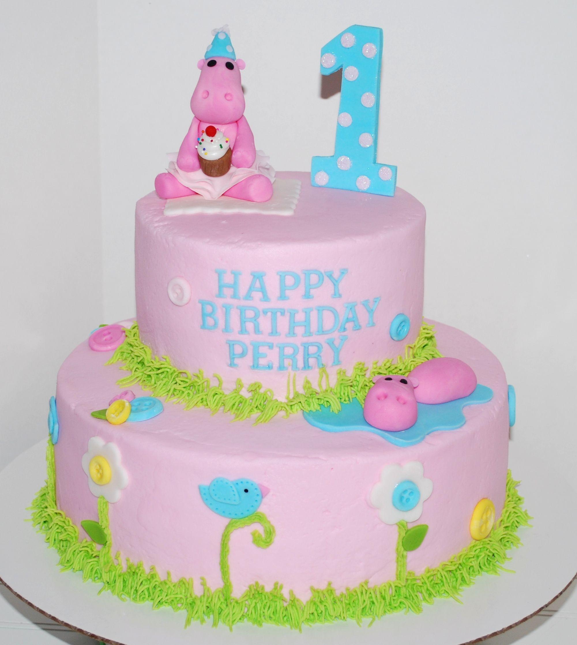 Pink Hippo Cake Nutmeg Confections Cakes I Have Made Nutmeg