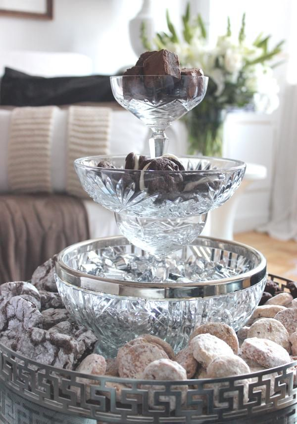 Diy Tiered Serving Tray Upcycle Your Dishes Trays Wine Glasses Tiered Tray Diy Glass Serving Trays Tiered Tray Decor