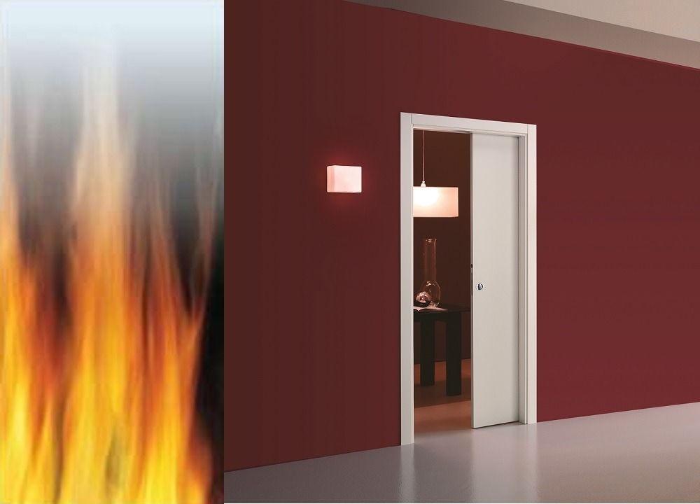 Fire-rated Single Eclisse Pocket Door | The Pocket Door Comp…