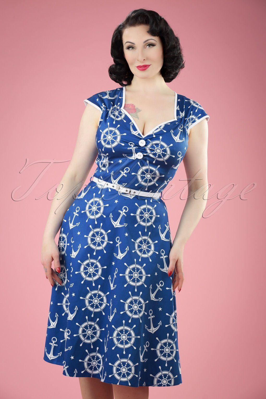 1950s Dresses, 50s Dresses | Encaje, Damas y Ropa