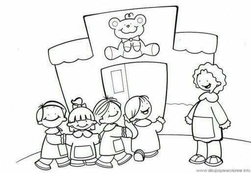 Dibujos Para Pintar Del Colegio picture gallery