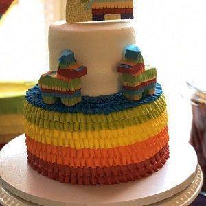 Photo of 1x Esel Pinata Cake Topper, Fiesta Kuchen Dekoration, Fiesta Geburtstag, Fiesta …