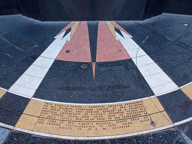 Revolution Of The Equinox Hoover Dam Dam Star Map
