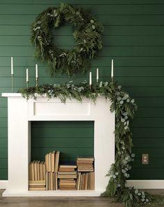 DIY Simple Faux Fireplace