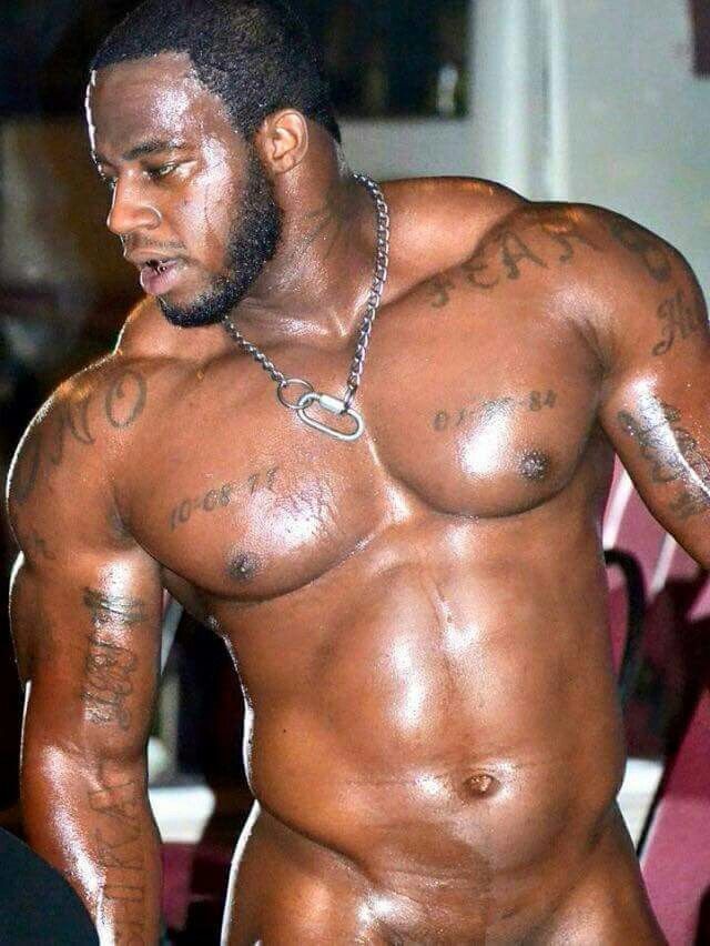 Gay black muscle bears