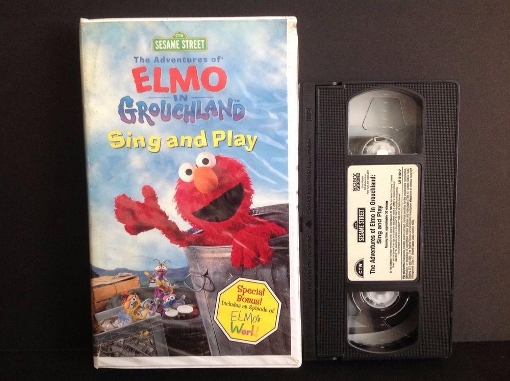Elmo vhs 1999