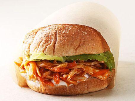 BBQ Chicken Sandwich  Recipe   Kitchen Daily