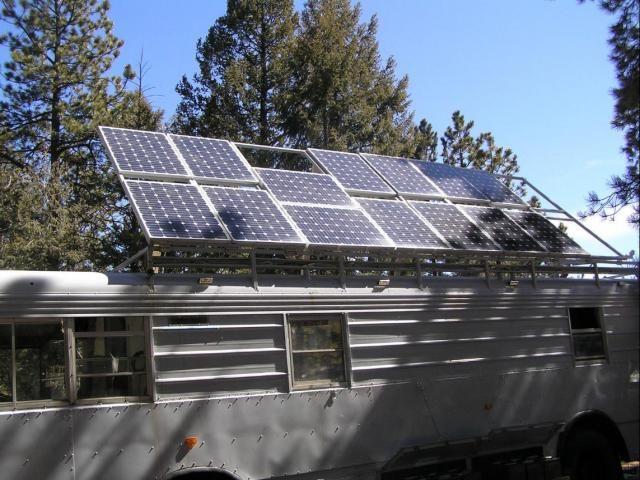 Homemade Survival Vehicle Has 1 820 Watts Of Solar Power Solar Solar Panels Solar Panels Roof