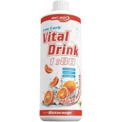 Photo of Vital Drink Konzentrat – 1000ml – Erdbeere Best Body NutritionBest Body Nutrition