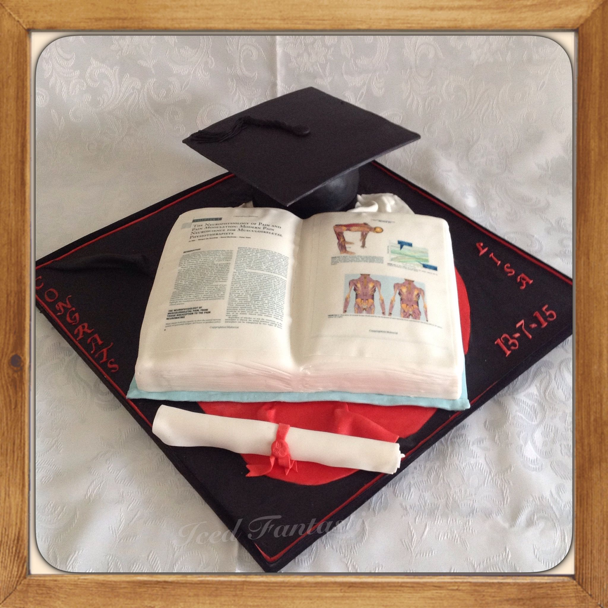 Physiotherapy Graduation Cake