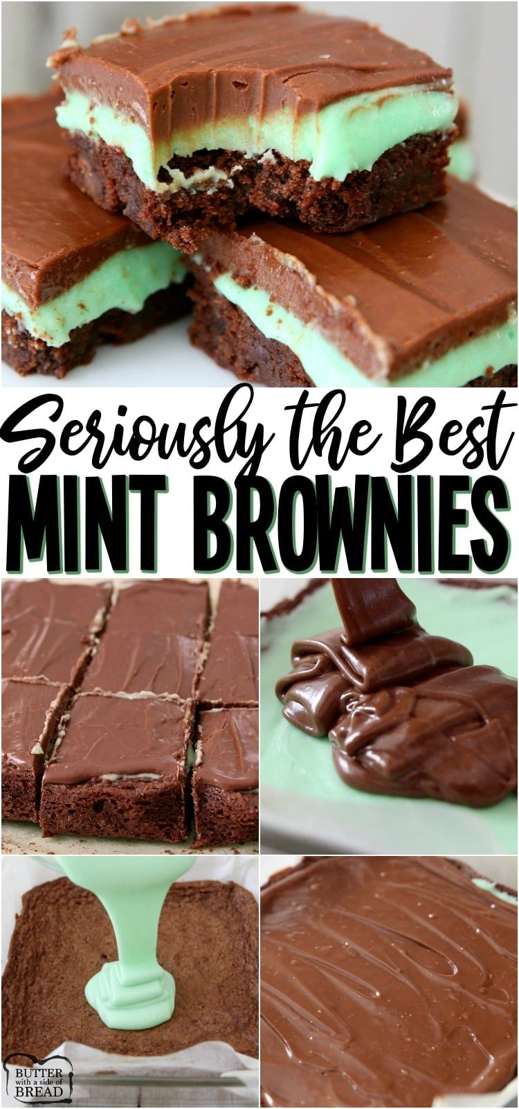 THE BEST MINT BROWNIES {VIDEO}