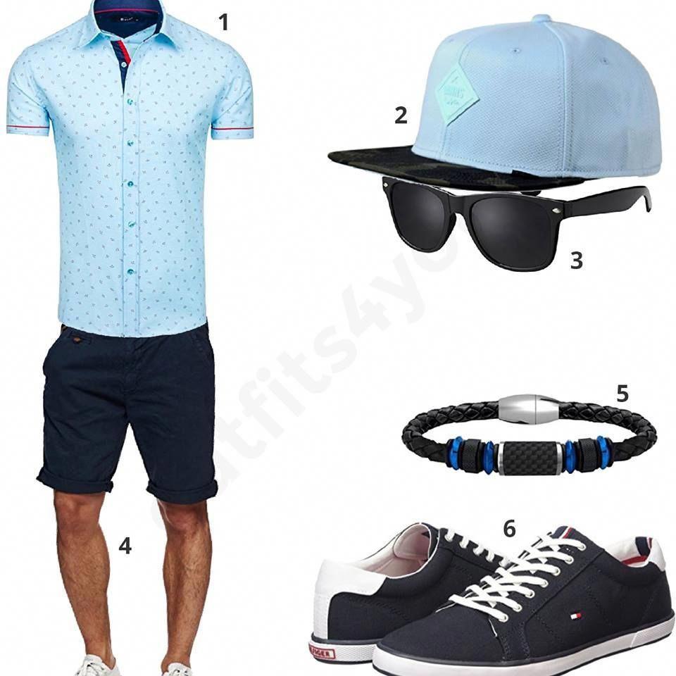 339ed9b8a821b HerrenStyle in Navy und Hellgrau m0372 WF clothes Fashion