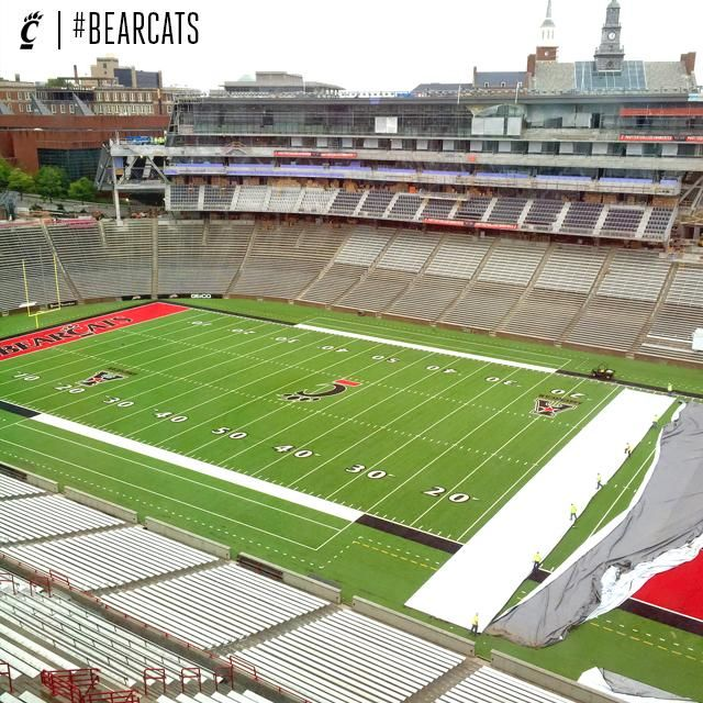 Cincinnati Bearcats On University Of Cincinnati Football