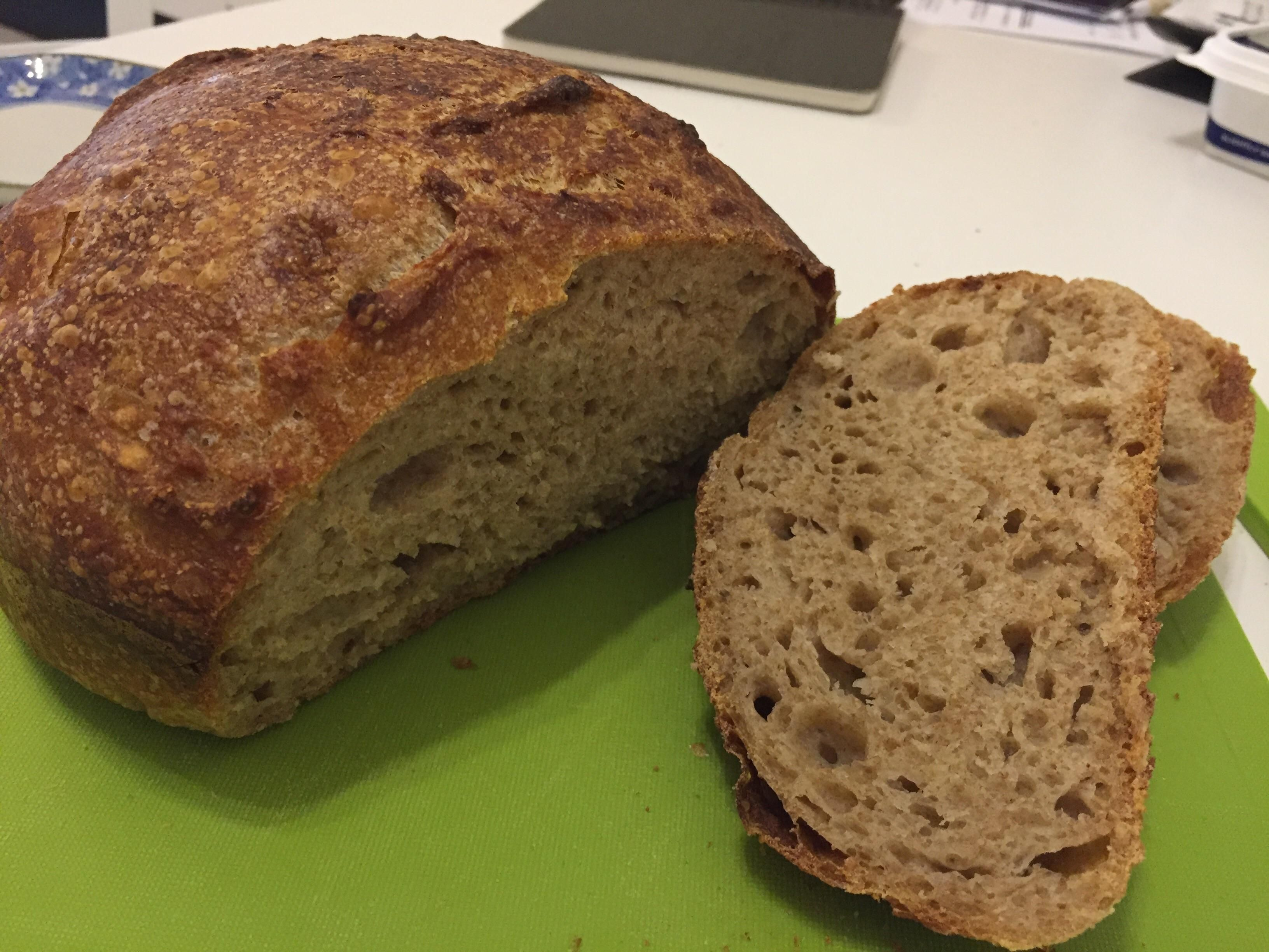 Fwsy Overnight 40 Whole Wheat How Can I Stop It From Sticking To