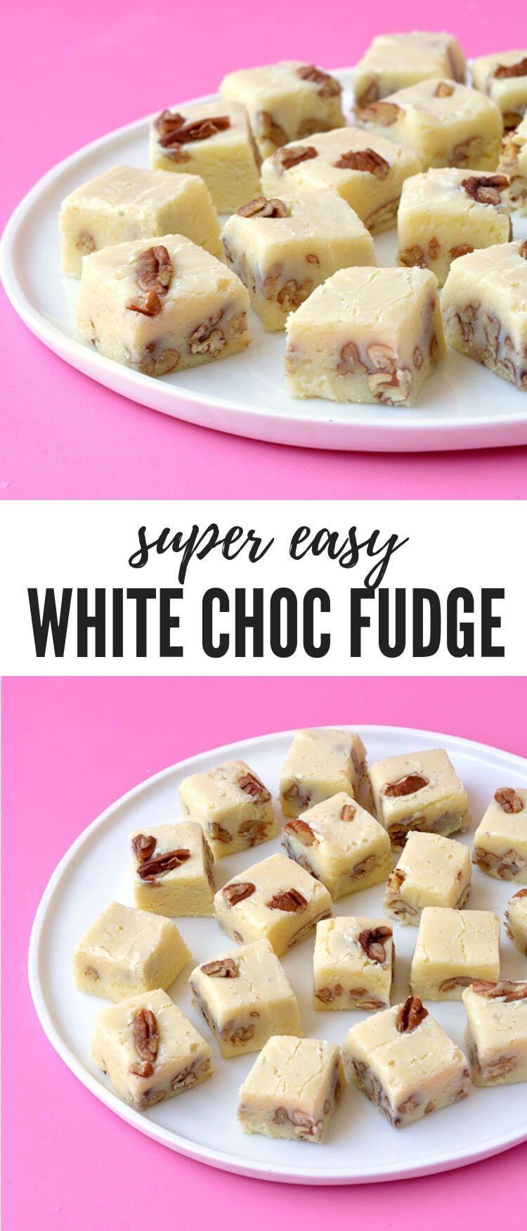 White Chocolate Fudge Super Easy Sweetest Menu Recipe Fudge Recipes Fudge Recipes Chocolate White Chocolate Recipes