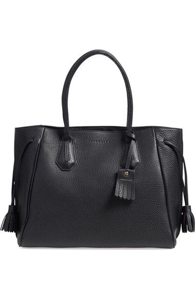 d3053bcd65 Longchamp 'Penelope' Tassel Drawstring Leather Tote available at #Nordstrom