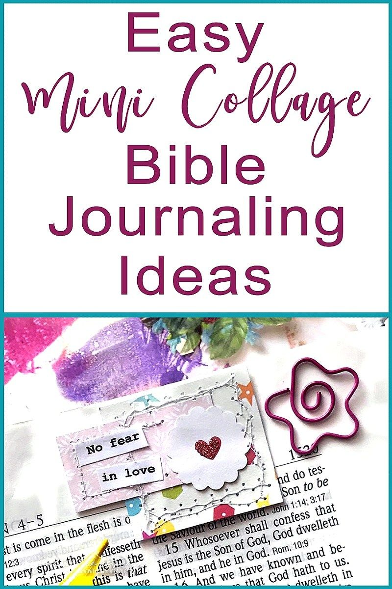 These easy to make journaling mini collage ideas will help you these easy to make journaling mini collage ideas will help you journal in the margins of fandeluxe Image collections