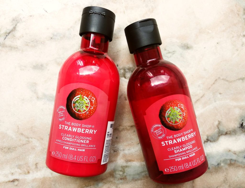 Berrylicious The Body Shop Strawberry Glossing Shampoo