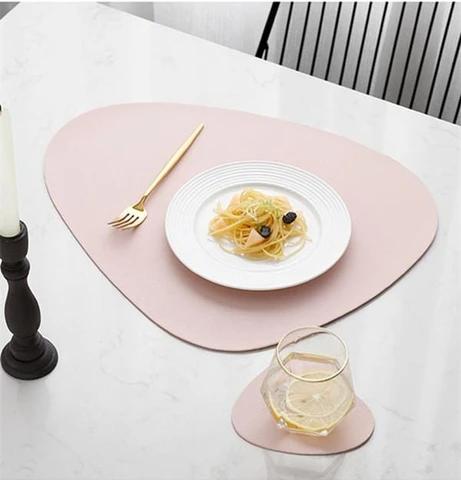 Emilie Designer Placemat Coaster Set By Tilly Tilly Living Placemats Fine Dining Restaurant Coaster Set