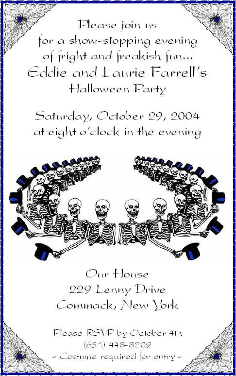 Halloween invitation wording for adults happy halloween halloween invitation wording for adults stopboris Images