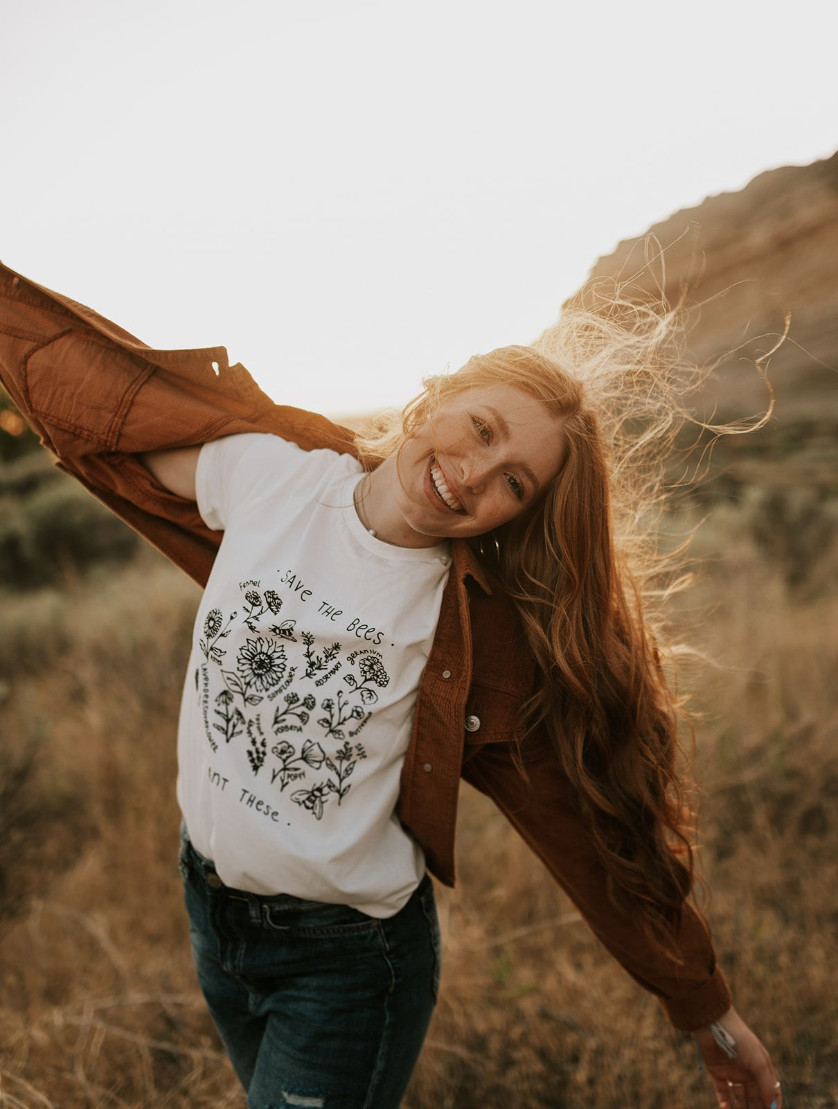 I always love having adventurous, candid, fun, and relaxed senior portraits that shows the seniors personality. I love having them run, laugh, twirl and just enjoy this awesome time of their lives! senior portraits, wildflowers, field, mountains, outdoors
