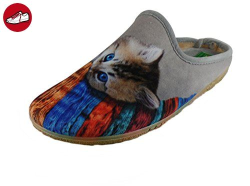 ALBEROLA Hausschuh Pantoffel Katze A9685A - EU 36-43 (40) mpWTkWPx