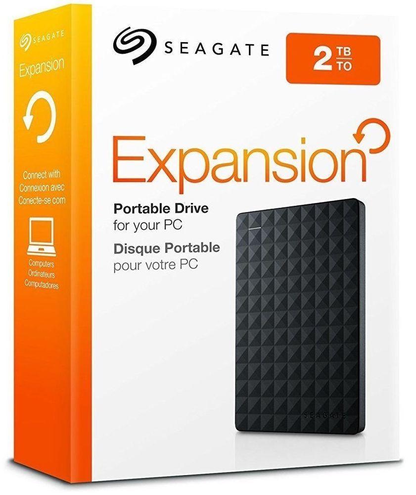 2tb Seagate Expansion Portable External Hard Drive Disk Usb 3 0 Stea2000400 Portable Hard Drives Seagate Portable External Hard Drive