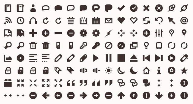 Top 10 Beautiful Minimalist Icon Sets With Images Minimalist
