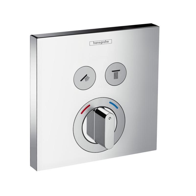 Hansgrohe ShowerSelect Mischer Unterputz, für 2 Verbraucher