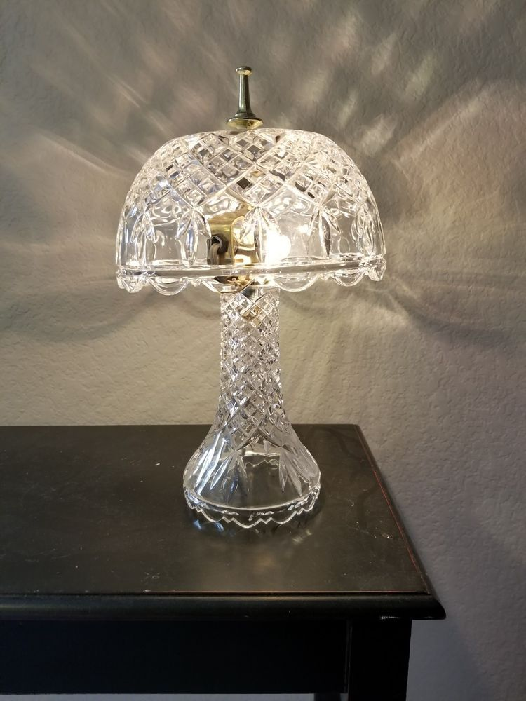 Vintage Crystal Table Lamp Table Lamp Crystal Table Lamps Lamp