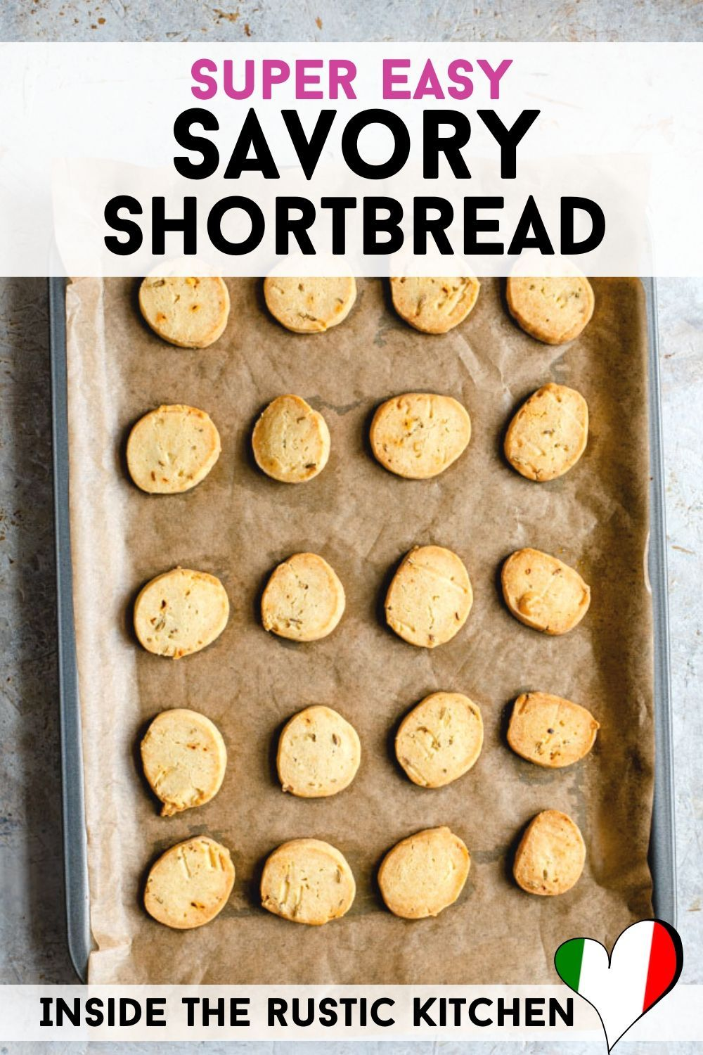 Photo of Savory Shortbread – Parmesan Cheese Cookies