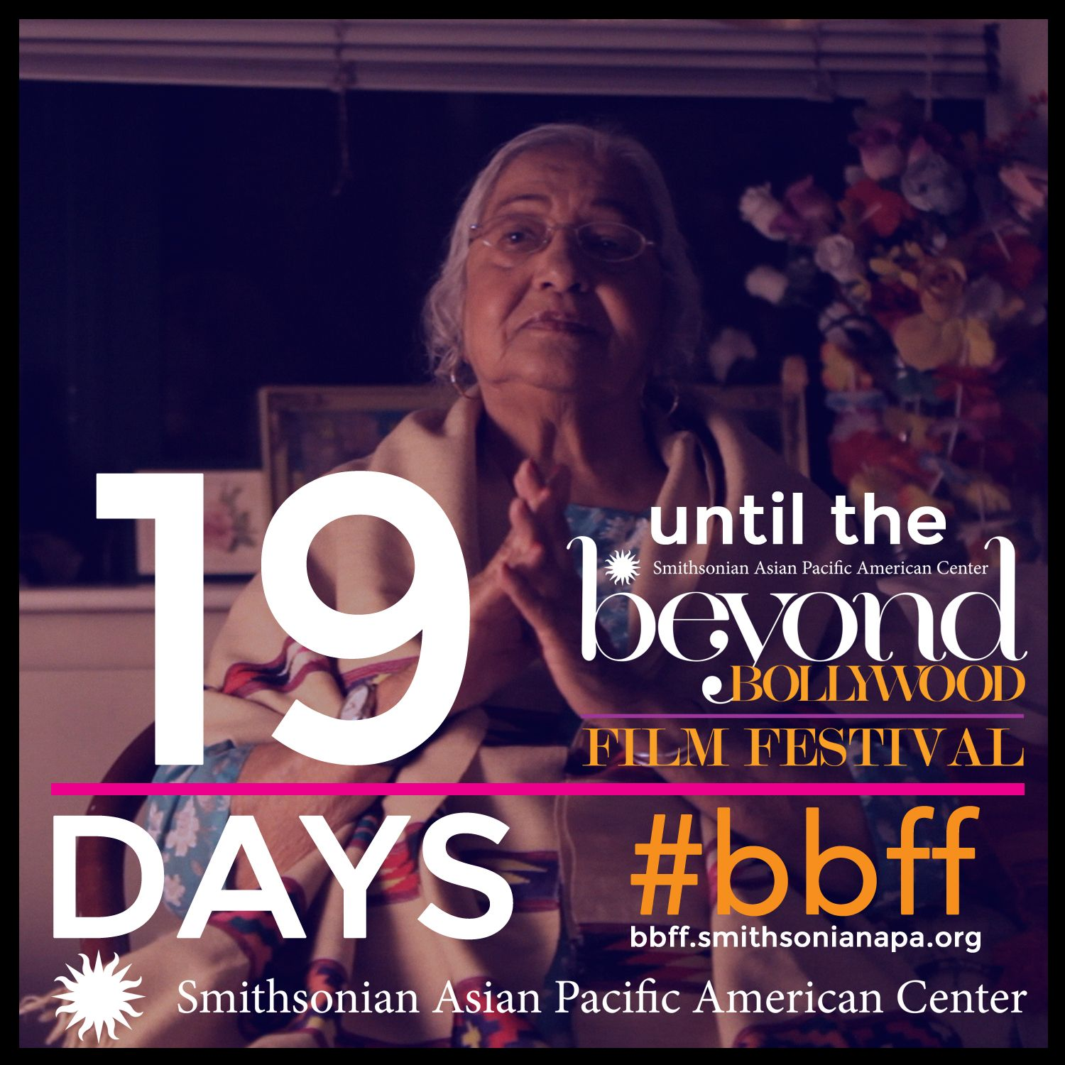 19 days until the Smithsonian Asian Pacific American