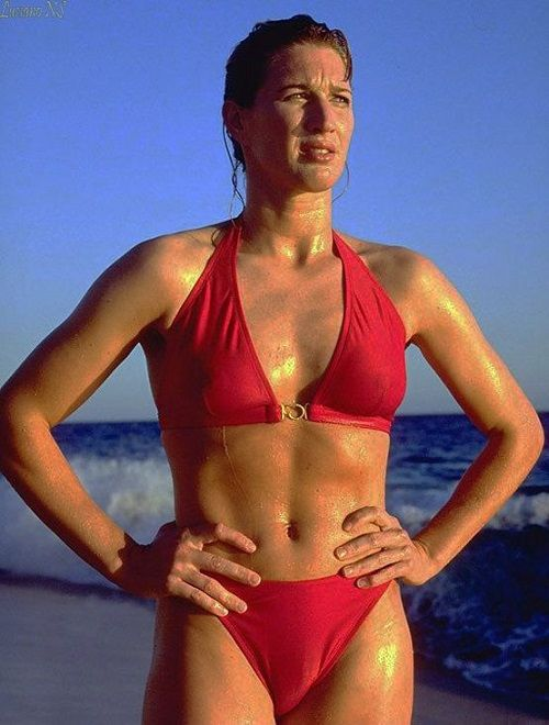 Steffi graff bikini