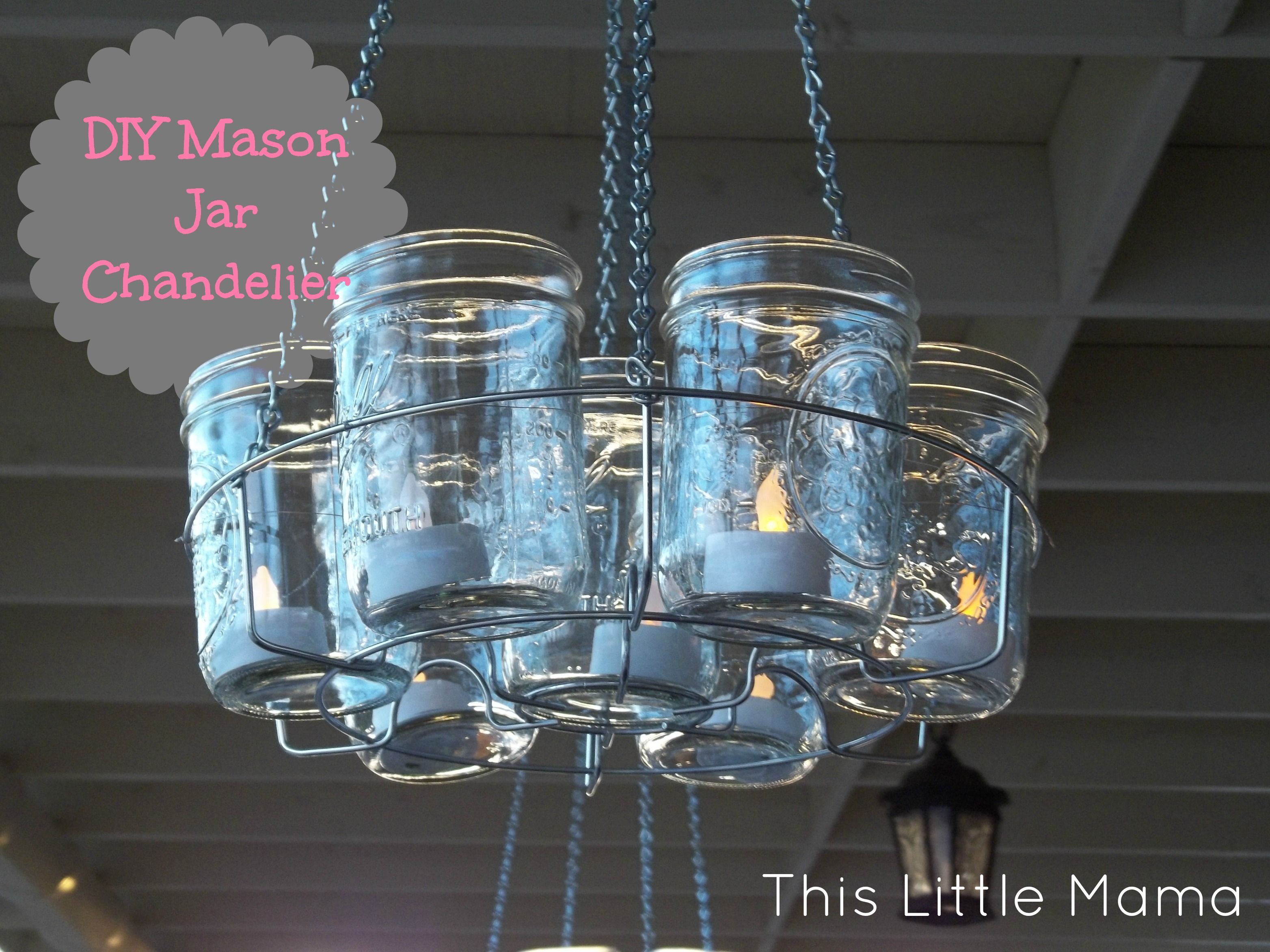 Canning rack canning jars christmas lights one cool for Hanging lights made from mason jars
