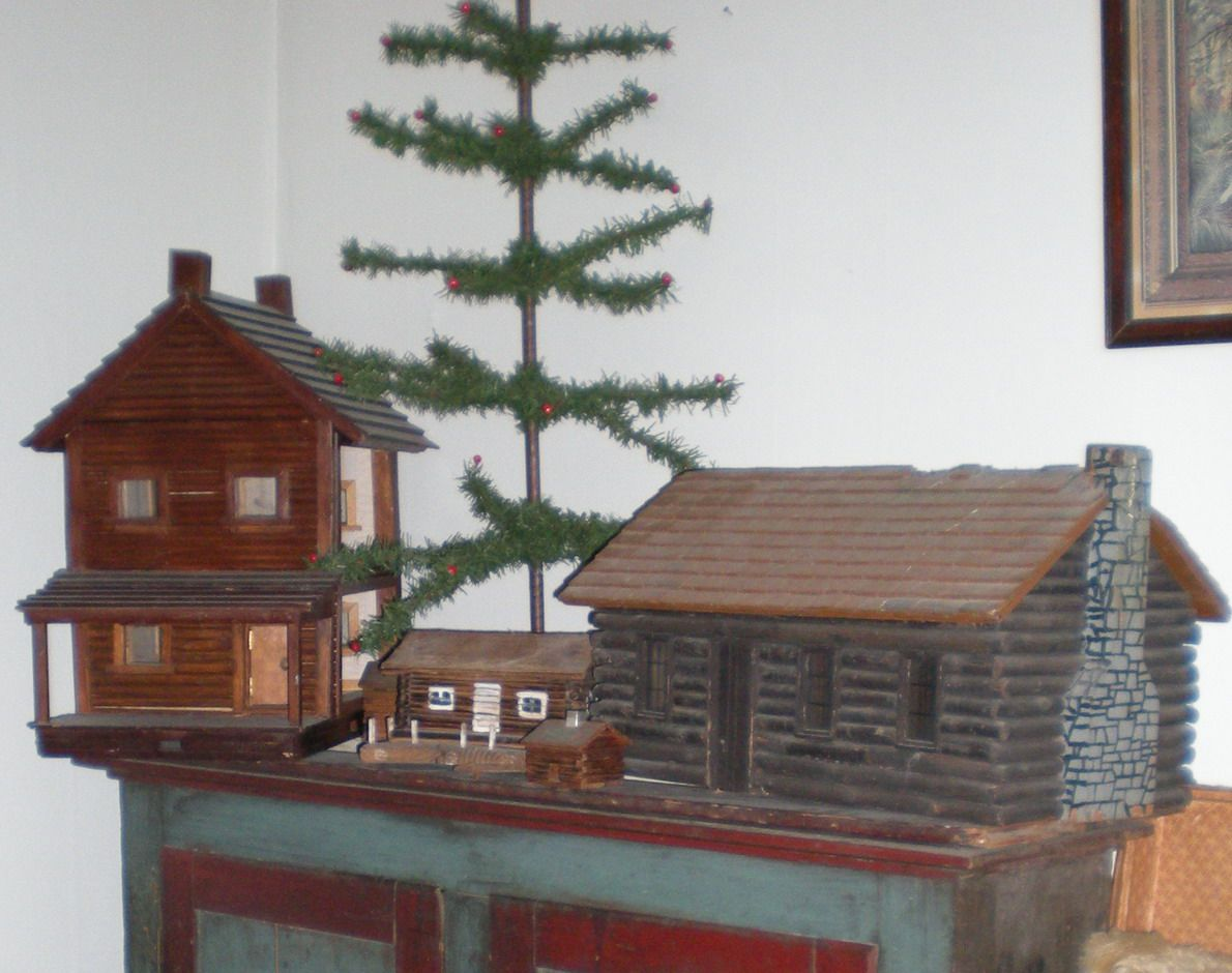 Mini Blockhaus Prim Little Log Cabins A Feather Tree Heimwerkerprojekte