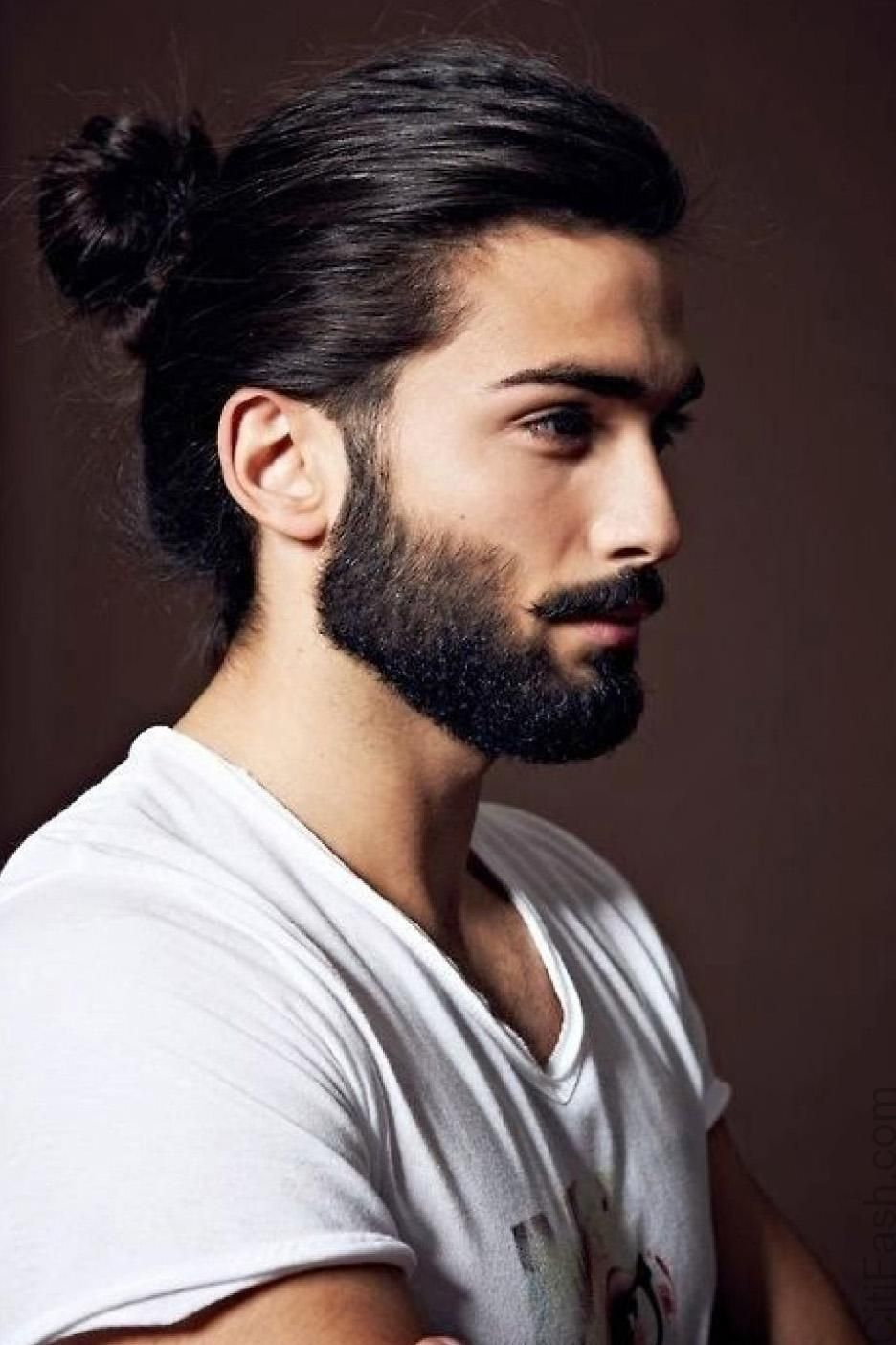 Different types of mens haircuts black hairstyles ponytails bangs  women hair libs blackhairstyles