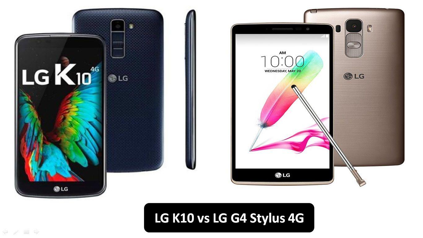 LG K10 vs LG G4 Stylus 4G - Full Comparison | Gsemobilesnews