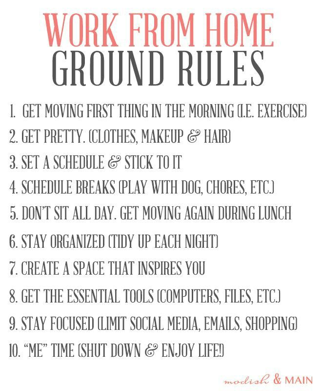 Work from home ground rules entrepreneur work from - Online design jobs work from home ...
