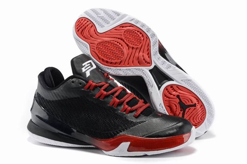 3f5e36187f09bb Jordan Cp3.Viii Chris Pauls Black White Red